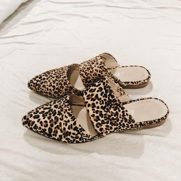 Matisse Berlin Leopard Mules